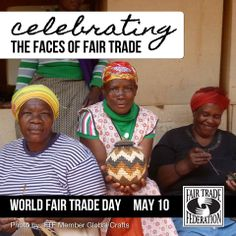 It's almost #WorldFairTradeDay! #fairtrade  (Great photo by Global Crafts)  Spread by www.compassionateessentials.com   and http://stores.ebay.com/fairtrademarketplace/