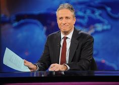 """FILE - This Nov. 30, 2011 file photo shows television host Jon Stewart during a taping of """"The Daily Show with Jon Stewart"""" in New York. Comedy Central announced Tuesday, Feb. 10, 2015, that Stewart will will leave """"The Daily Show"""" later this year. (AP Photo/Brad Barket, File)"""