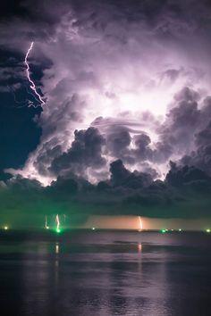 Thunderstorm in Siam, Thailand