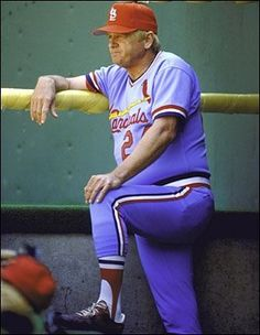 St. Louis Cardinals manager Whitey Herzog