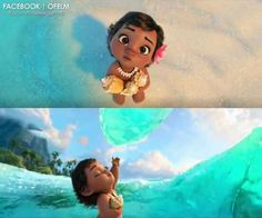 So apparently we are getting baby Moana?! Shouldn't be surprising, now that I think about it. They've been doing that for a while. Still, she is adorable.