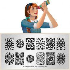 MoYou London ~ Kaleidoscope Collection 06 nail art stamp plate
