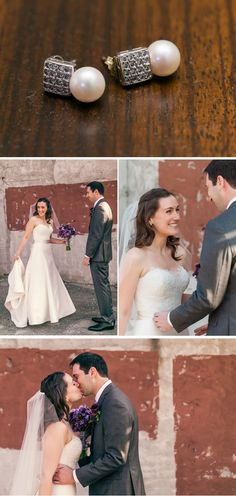 Classic Purple Fall Wedding in New York