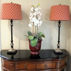 DIY; How to update lamp shades using fabric