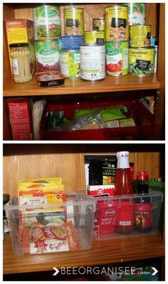 organiser un espace _ regrouper les produits similaires ensemble
