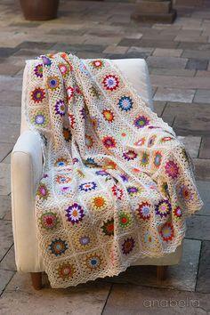 Colorful crochet blanket - Anabelia <3