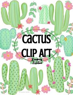 FREEBIE Watercolor Cactus Clip Art This clipart package is for: Hand drawn / watercolor cacti What y Cactus Clipart, Flower Clipart, Art Watercolor, Watercolor Cactus, Camera Clip Art, Free Adult Coloring, Cactus Drawing, Watercolor Succulents, Cactus Decor