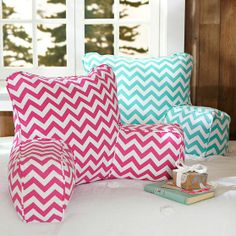 Chevron Lounge Around Pillow Cover | PBteen
