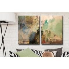 Shop for Ready2HangArt 'Smash XVIIII' Oversized Canvas 2-piece Wall Art Set. Get free delivery at Overstock.com - Your Online Art Gallery Store! Get 5% in rewards with Club O!