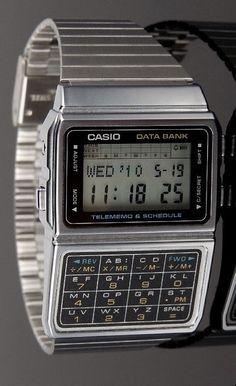 Casio Vintage Watch, Casio Watch, New Apple Watch, Apple Watch Series, Mens Sport Watches, Luxury Watches For Men, Retro Watches, Vintage Watches, Digital Clocks