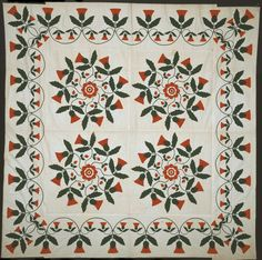 Susan (née Mumma) Major (1843-1926) United States, Pennsylvania, Dauphin County, probably Harrisburg, Bedcover (Quilt Top)