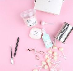 Imagem de pink and pastel