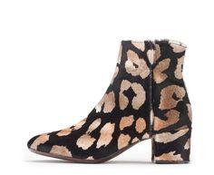 Attilio Giusti Leombruni - The Animal print ankle boot. #aglshoes #fw17 #shoes #bootie #animalier