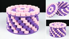 Today I will show you How to make a basket with foam sheet and cardboard. Making this basket is very easy. You can learn the basket making if you watch the v. Foam Sheet Crafts, Foam Crafts, Diy Crafts, Diy Paper, Paper Crafts, Paper Quilling For Beginners, Quilling Work, Paper Quilling Patterns, Diy Gift Box