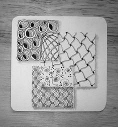 A tangled Zentangle