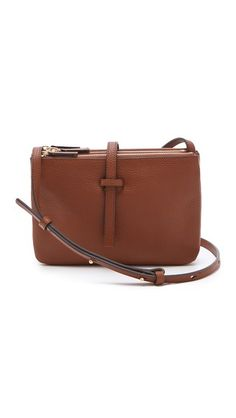 Annabel Ingall Jojo Cross Body Bag Brown Leather Purses 9effaec231424