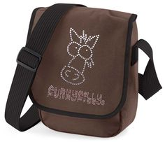 Funky Filly Sparkly Diamante Horse Cross Body Shoulder Bag