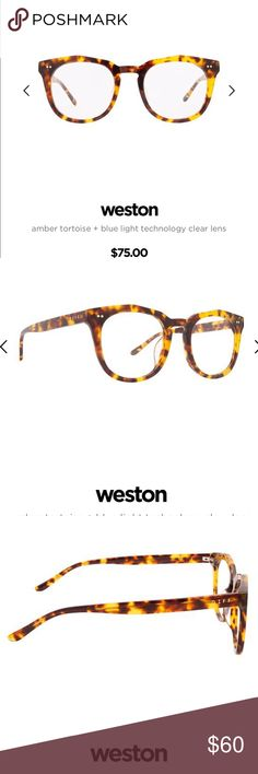 5c30bef0f67cf Diff Weston Blue Light blocking glasses Blue light blocking glasses in  tortoise. Brand new