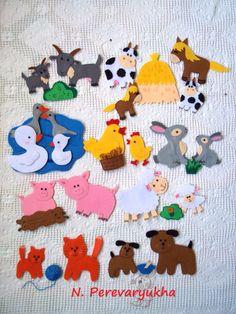 Фигурки для ковролинографа Мамы и малыши - Рукоделие - Babyblog.ru