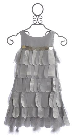 Biscotti Platinum Petals Girls Sleeveless Party Dress $79.00
