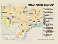 Metro Detroit is home to a bountiful array of farmers markets.