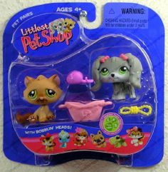 Littlest Pet Shop Pet Pairs: Dog & Cat by Hasbro. $15.77. LITTLEST PET SHOP PET PAIRS. TWO PETS AND ACCESSORIES IN THIS PACKAGE. OLDER SERIES NO LONGER AVAILABLE