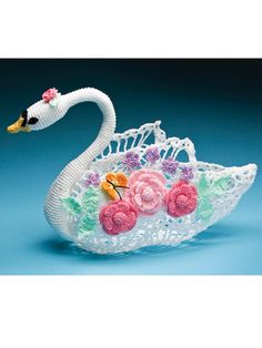 Swan centerpiece - on original design
