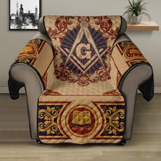 Sofa Protector, Freemason, Holiday Festival, Stitch Patterns, Cozy, Fabric, Stains, Design, Diamond