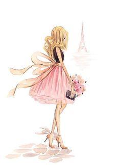 Imagem de fashion, paris, and drawing