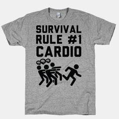 Rule One Cardio | HUMAN | T-Shirts, Tanks, Sweatshirts and Hoodies