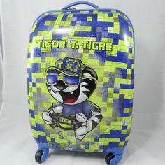 befdfe9b4a mala de viagem mala escolar azul tigor t.tigre 2018