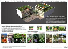 """Galeria - Menção no Concurso """"Hacia una Nueva Arquitectura Escolar"""" / Giordano + Eusebio + Fernández de Lema + Sánchez - 10"""