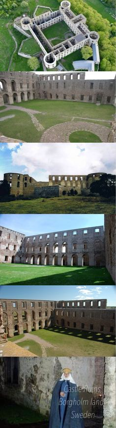 """Borgholm Castle - 800 Years of Swedish History  Borgholm Castle, """"the most beautiful ruin in Scandinavia"""", is one of those examples of architecture, that leaves hardly any visitor unaffected."""