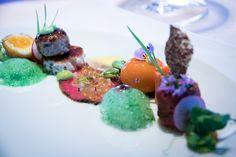 Gourmet dinner by August Minikus - Restaurant and Hotel #Mammertsberg - member of Relais & Châteaux