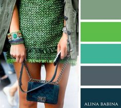 Obsessed with the velvet Chanel handbag! Miroslava Duma at New York Fashion Week Spring Outfit: Lanvin Bag: Chanel Style Work, Mode Style, Style Me, Green Style, Classy Style, Outfit Essentials, Look Fashion, Fashion Details, Fashion Trends