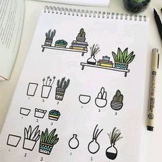 You know how I love plant doodles so much I can't stop myself not to draw one on my journal. But, hey, plant doodles can really adapt to… doodle Bullet Journal 2019, Bullet Journal Notes, Bullet Journal Aesthetic, Bullet Journal Ideas Pages, My Journal, Bullet Journal Inspiration, Pens For Bullet Journaling, Bujo Inspiration, Doodle Inspiration