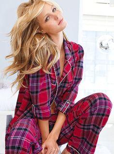 a3cf266a38 Victoria s Secret The Dreamer Flannel Pajama 2 Piece Set S P NWT   VictoriasSecret