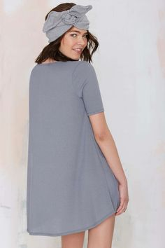 Simple Game Ribbed Dress | Shop What's New at Nasty Gal