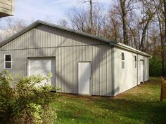 """Building Dimensions: 36' W x 48"""" L x 10' 4"""" H (ID# 274)  Visit: http://pioneerpolebuildings.com/portfolio/project/36-w-x-48-l-x-10-4-h-id-274-total-cost-20896  Like Us on Facebook! www.facebook.com/... Call: 888-448-2505 for any questions!"""