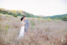 Open Field Couple Portraits.   Bommer Canyon Wedding, Photography by Clove and Kin