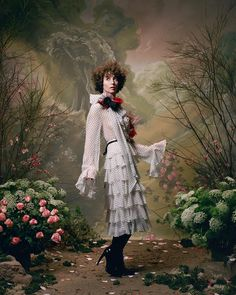 Rodarte Fall Winter Photo Series featuring Female Artists   POPxo