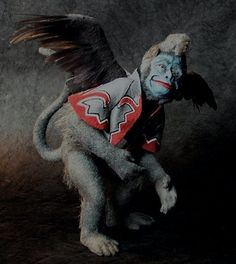 Flying monkey Wizard of Oz.