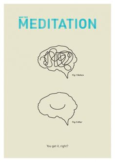 WHY TRY MEDITATION  Meditation isn't just for extremely spiritual beings anymore! In a world full of technology, longer work hours and higher financial stress meditation can be an extremely powerful personal tool. People who meditate experience lower stress, better health and a clearer, more creative mind! After personally experiencing the benefits it became a strong inspiration for this brief.