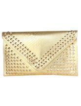 Metallic Studded Clutch Bag. Enjoy thrilling discounts up to 70% Off at Milanoo using Coupon Codes & Promo Codes.