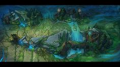Check out some Summoner's Rift concept art! | League of Legends