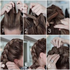 Monique Lund hair braid tutorial