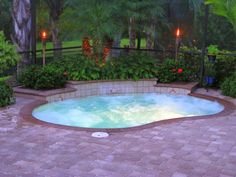 Mini Pools For Small Backyards U2013 Fun And Excitement For The Whole Family : Inground  Pools For Small Yards