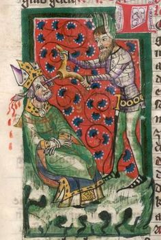 Jacobus : Legenda sanctorum aurea, verdeutscht in elsässischer Mundart [u.a.] 1362  Cgm 6 Folio 171