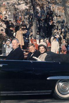 A Public Stroll, When: January 20, 1961 Where: Washington, D.C.