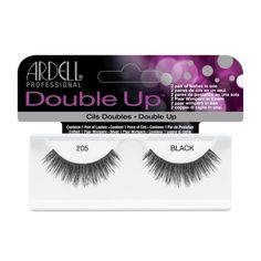 3 Pack ARDELL Double Up Lashes  Black 205 by Ardell *** Visit the image link more details.